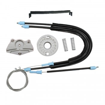 VP8582 Window Regulator KIT Front; Left  Door for Skoda Fabia 1   Manuel 1999-2008 Cable Wheel and Wheel House