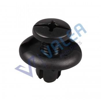 VCF1127 10 Pieces Front Fender Push-Type Retainer, Black for Honda & Acura : 91512-SM4-003