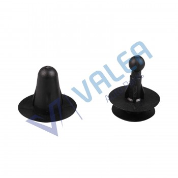 VCF1163 10 Pieces Door Panel Retainer;  Black Colour for Isuzu: 8942264920; Mazda: 9927-40-825; Toyota: 67771-01010, 67771-12010