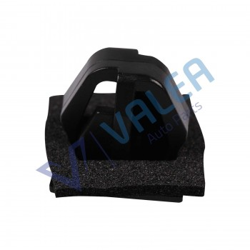 VCF1356 10 Pieces Body Side Moulding Clip With Sealer, BLACK for Hyundai Kia: 87758-38000