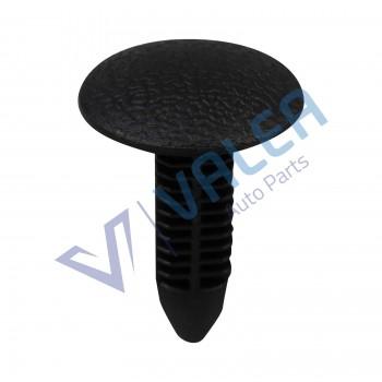VCF1533 10 Pieces Trim Panel Retainer, Black for Suzuki Honda: 90667-SAO-0030; Nissan: 76996-01P02