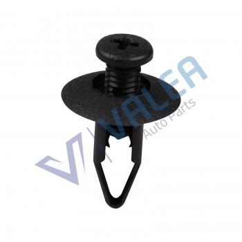 VCF1565 10 Pieces Front Bumper Fascia Push-Type Retainer for Nissan:6385401A00 , Mitsubishi MB547806 Ford