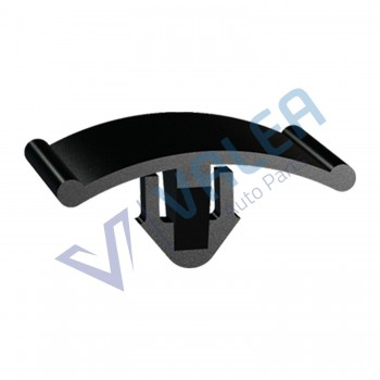 VCF1734 10 Pieces Hood Insulation Retainer, Black for Opel Vauxhall : 1162488, 1162642,  GM : 90355604