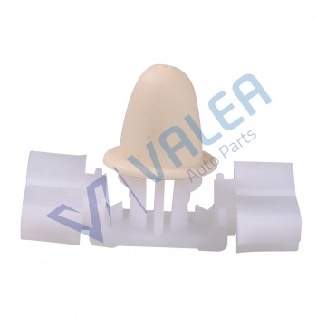 VCF1738 10 Pieces Side Moulding Clip, White for BMW : 51131960054