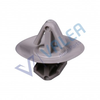 VCF1740 10 Pieces Side Moulding Lower Protection Door Trim Clips, Gray for Iveco : 500326896, Renault: 7703077421, Opel: 7701470779