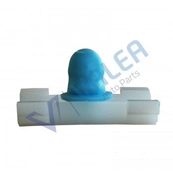 VCF1793 10 Pieces Moulding Clip With Blue Rubber Boot for BMW: 51138166675   Opel:172017  Fiat:71717421