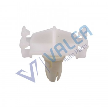 VCF1808 10 Pieces Front Fender & Quarter Panel Moulding Clips With White Rubber Boot for Mercedes Benz: 0019888081