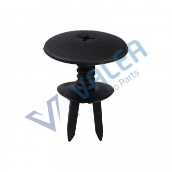VCF1814 10 Pieces Grille Retainer, Black for Audi VW :1H0819055B01C