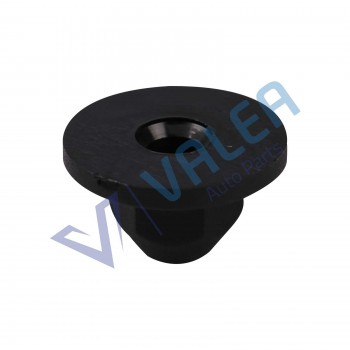 VCF1822 10 Pieces Moulding Nylon Flange Nut for VW Audi:171-201-969