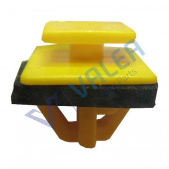 VCF1858 10 Pieces Body Side Moulding Clip with Sealer, Yellow for Hyundai: 87758-35000