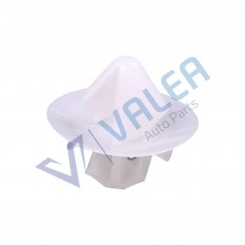 VCF2059 10 Pieces Side Moulding Clip, White for Citroen : 8565.48, Fiat: 9408565488