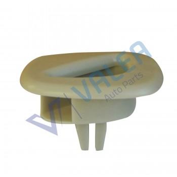 VCF2583 10 Pieces Car Ceiling Sound Insulation Cotton Fastener Clip for Peugeot 307 206 408 for Citroen