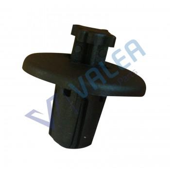 VCF2645 10 Pieces Push-Type Retainer, Black for Citroen Peugeot: 7013.J0, 8211.WV