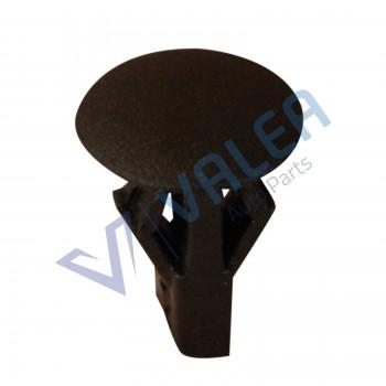 VCF294 10 Pieces Retaining Clip, Black  Retainer for Citroen: 9619769080