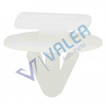 VCF330 10 Pieces Fender Push-Type Moulding Retainer, White for Vauxhall Opel: 122920;