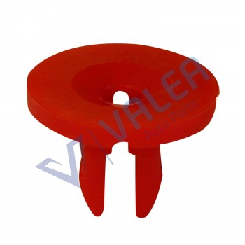 VCF380 10 Pieces Screw Nut; Red for Ford: 1019377, W704408S Mercedes: 0009889325