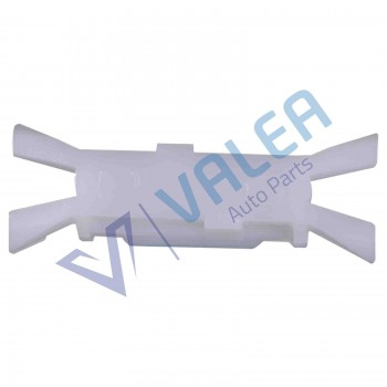 VCF45 10 Pieces Side Plastic Clips for Fiat : 7078732, Renault: 7701408860
