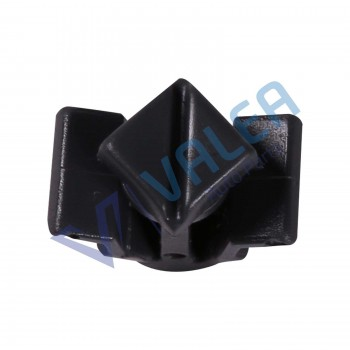 VCF464 10 Pieces Grille Clip, Black for Nissan: 01553-03831; 62318-01WOO