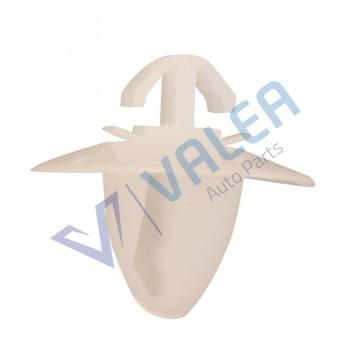 VCF62 10 Pieces Fastener for moulding, White, for Fiat Doblo : 71728805