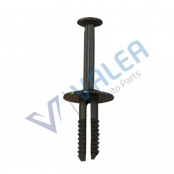 VCF8 10 Pieces Bumper Push-type Expanding Rivet, Black for Opel: 1400804; BMW: 51111964186, Mercedes:A0009905492