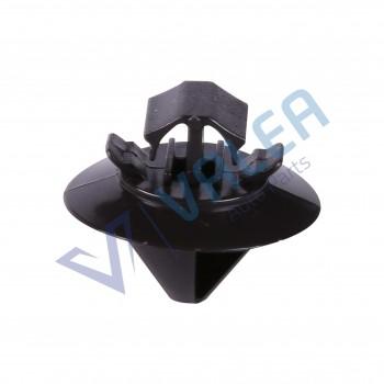 VCF81 10 Pieces Side Moulding Clip, Black for Citroen : 8565.48, Fiat: 9408565488