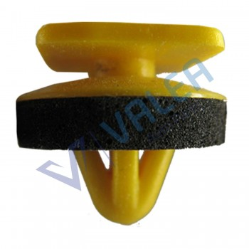 VCF85 10 Pieces Body Side Moulding Clip with Sealer, Yellow for Hyundai : 87703-H1000  Hyundai ELANTRA