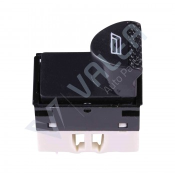 VDP113 Power Window Switch Button 6-Pin Front Left Door for Fiat Siena Albea Palio (White):98809717