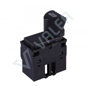 VDP114 Power Window Switch Button 6-Pin Front Left Door For Fiat Siena Albea Palio (Black): 98809718