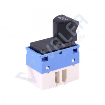 VDP115 Power Window Switch Button 6-Pin Front Right Door For Siena Fiat Albea Palio (Blue):98809719