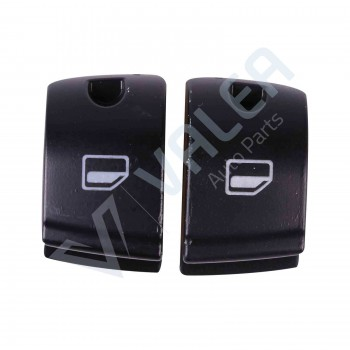 VDP119 Power Window Switch Button Cover Cap Front Left Hand Driver Side for Audi:4FD 959 855/ 4F0 959 855
