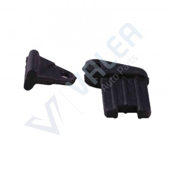 VDP143 Sun Window Shade Blind Corner Plastic Clips Brackets For BMW E39 E46