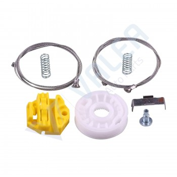 VWR1003 Window Regulator Repair Kit Rear; Right Door for Opel Astra H 2004- 2010