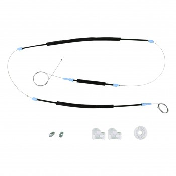 VWR234 Window Regulator Repair Kit Front; Left Side for VW Passat B5 1998-2005
