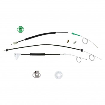 VWR443 Window Regulator Repair Kit Front; Right Door for Skoda Octavia 1st Generation Typ 1U 1996–2000
